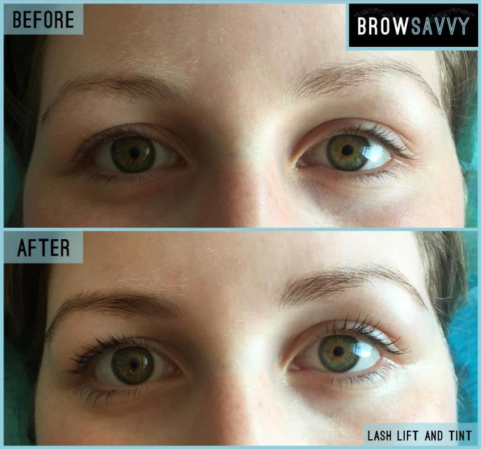 Brow Savvy - Lash and Tint - Before and After 2
