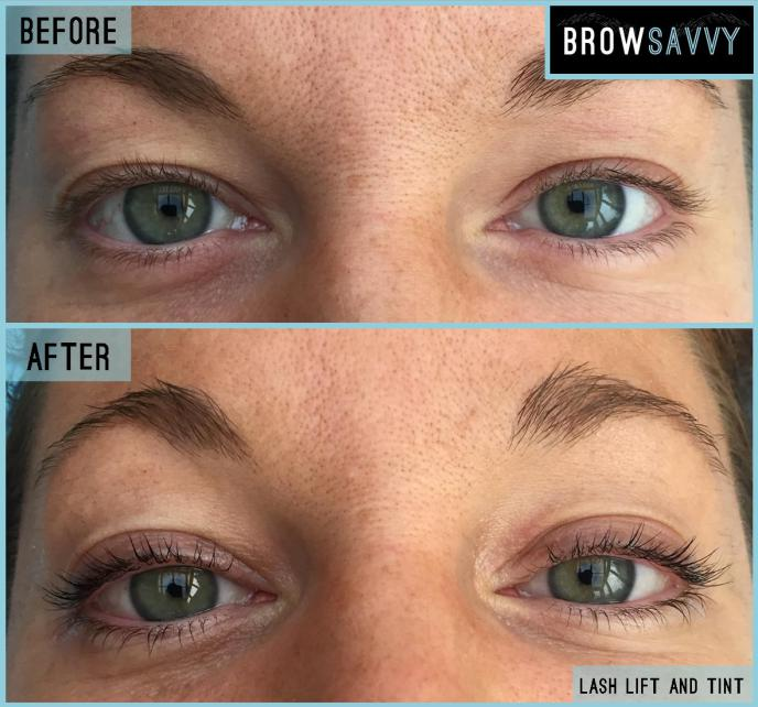 Brow Savvy - Lash and Tint - Before and After 3