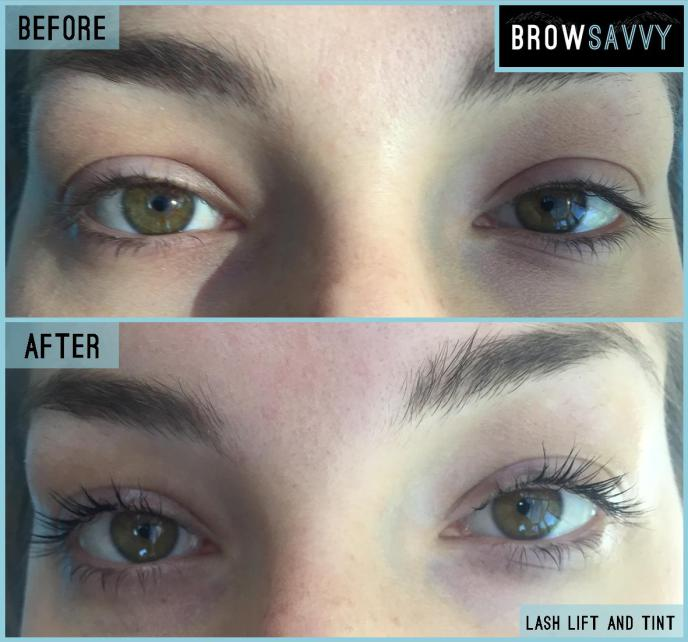 Brow Savvy - Lash and Tint - Before and After 4