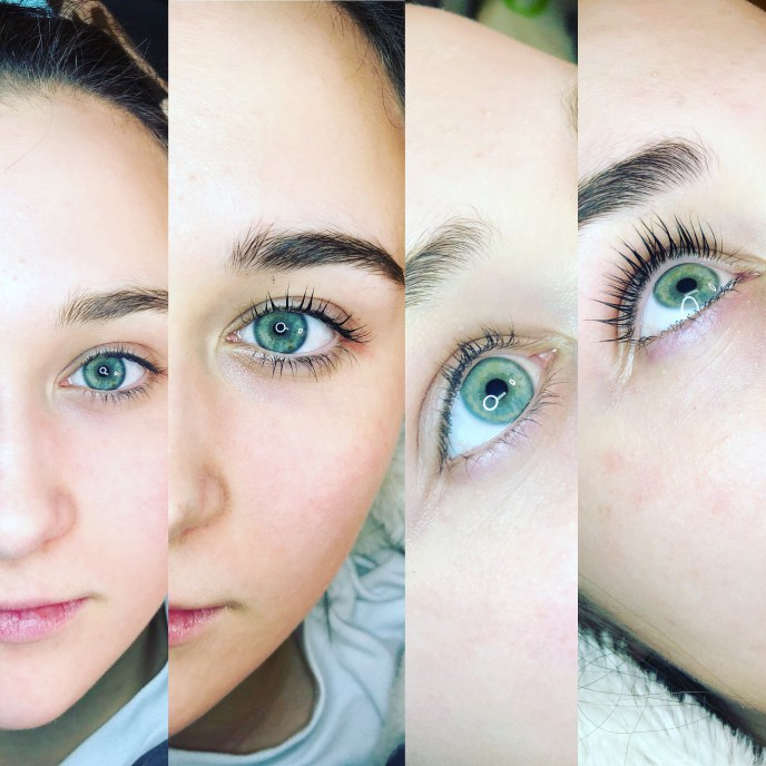 Brow Savvy - Lash and Tint - Before and After
