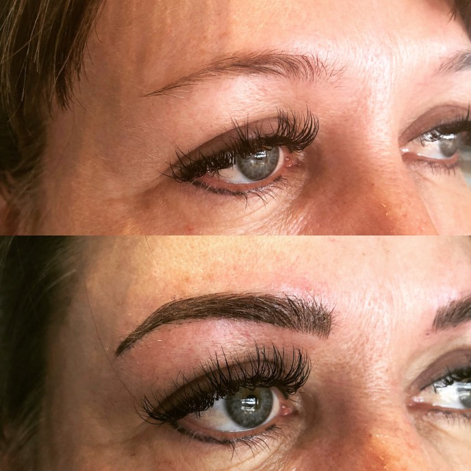 Brow Savvy - Microblading - Before and After